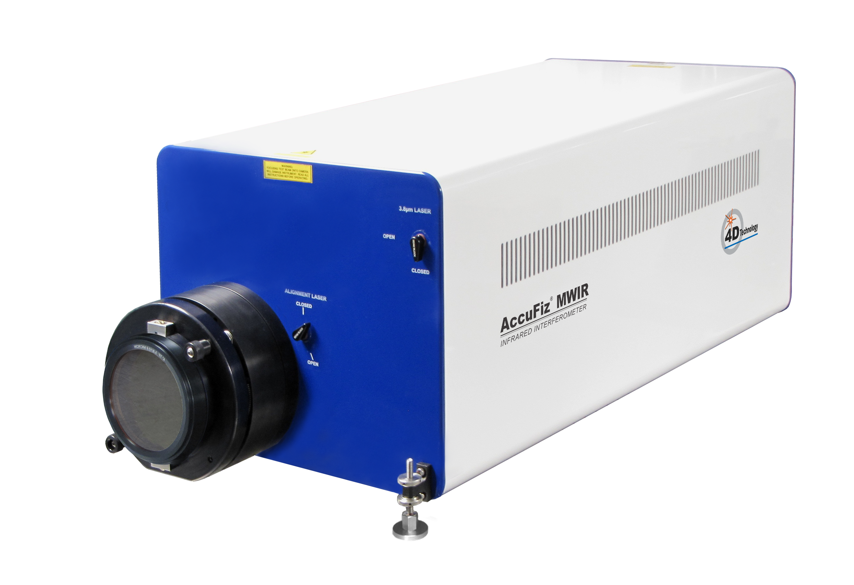IR Laser Interferometer - AccuFiz MWIR Fizeau Infrared Interferometer