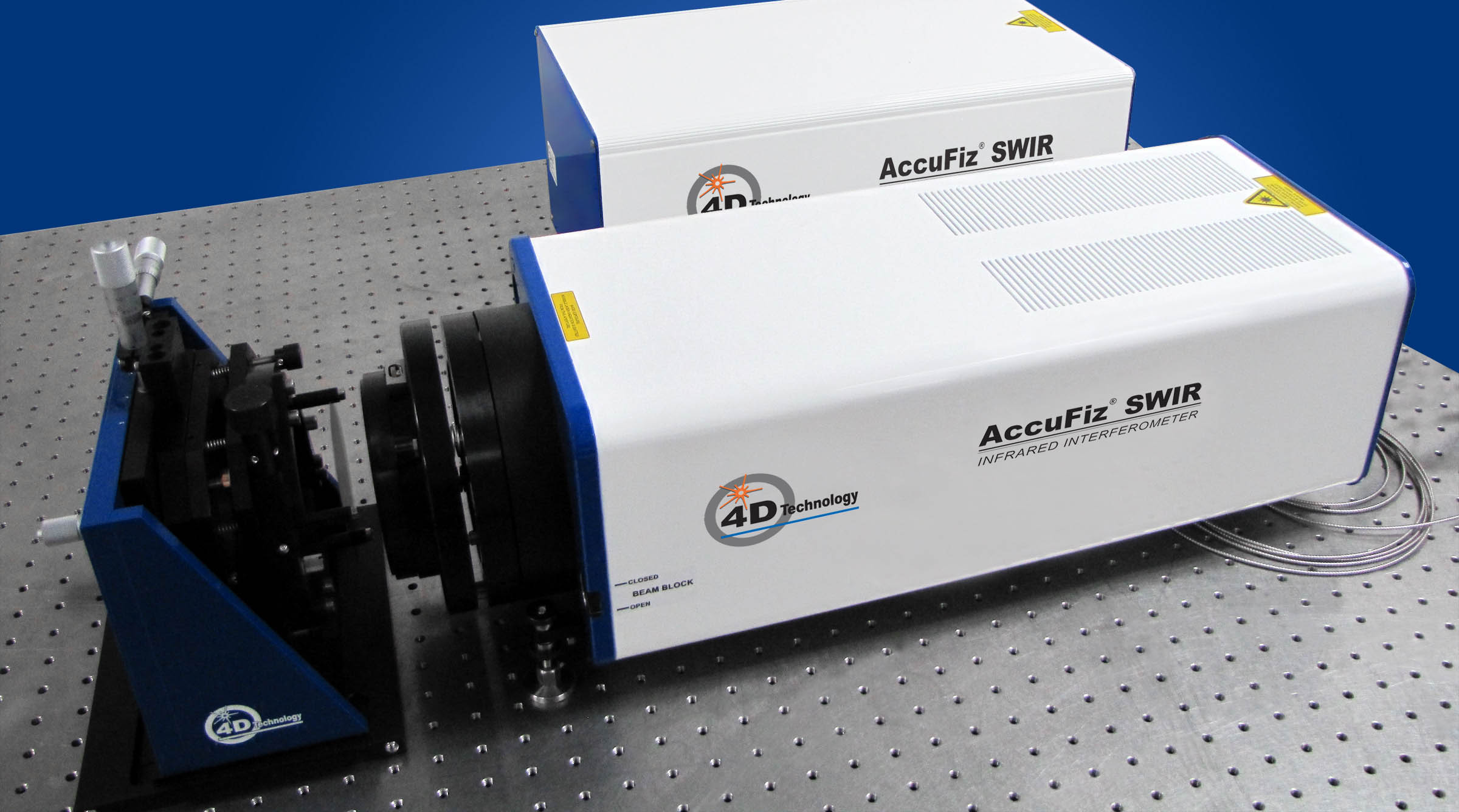 IR Laser Interferometer - AccuFiz SWIR Fizeau Infrared  Interferometer