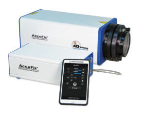 4D Technology AccuFiz Laser Interferometer with Surface Isolation Source.