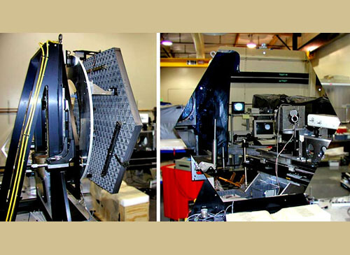 PhaseCam Twyman-Green Laser Interferometer measures mirror segments for the James Webb Space Telescope (JWST) despite vibration, noise or air turbulence