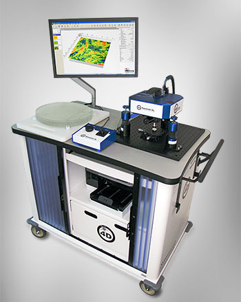 NanoCam Sq optical profiler,measure surface roughness