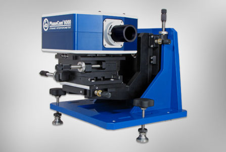 Dynamic laser interferometer twyman green PhaseCam 6000